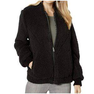 UGG Annalise Teddy Jacket Black Size XL NWT